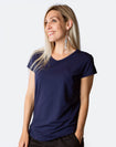 Breastfeeding T-Shirt - Scoop Tee Tui Blue