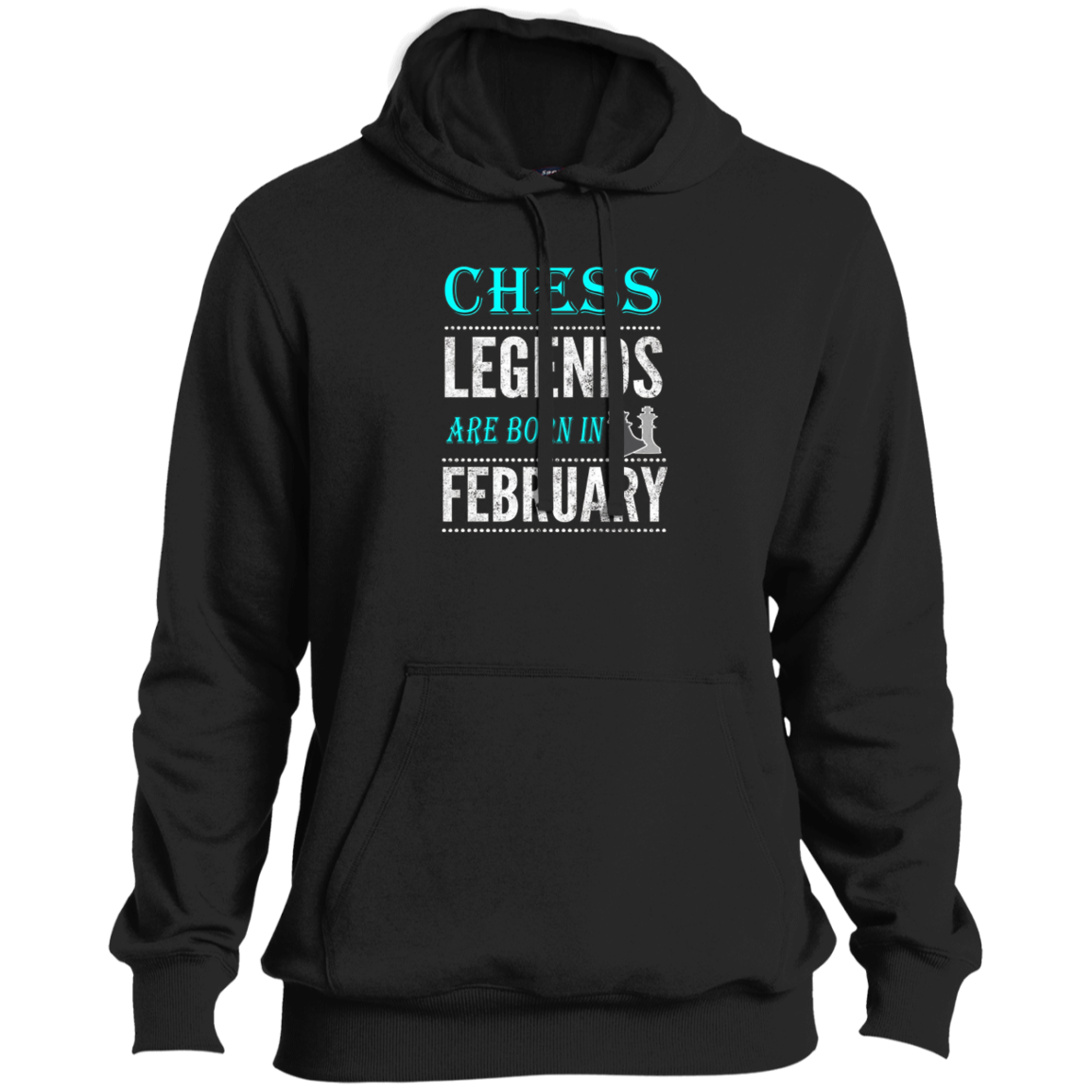 Chess Birthday Gift T Shirt  Legends are Born in February