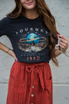 Journey Departure 1980 Graphic Tee in Smoke