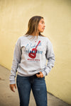 Nashville Music City Sweatshirt in Heather Grey