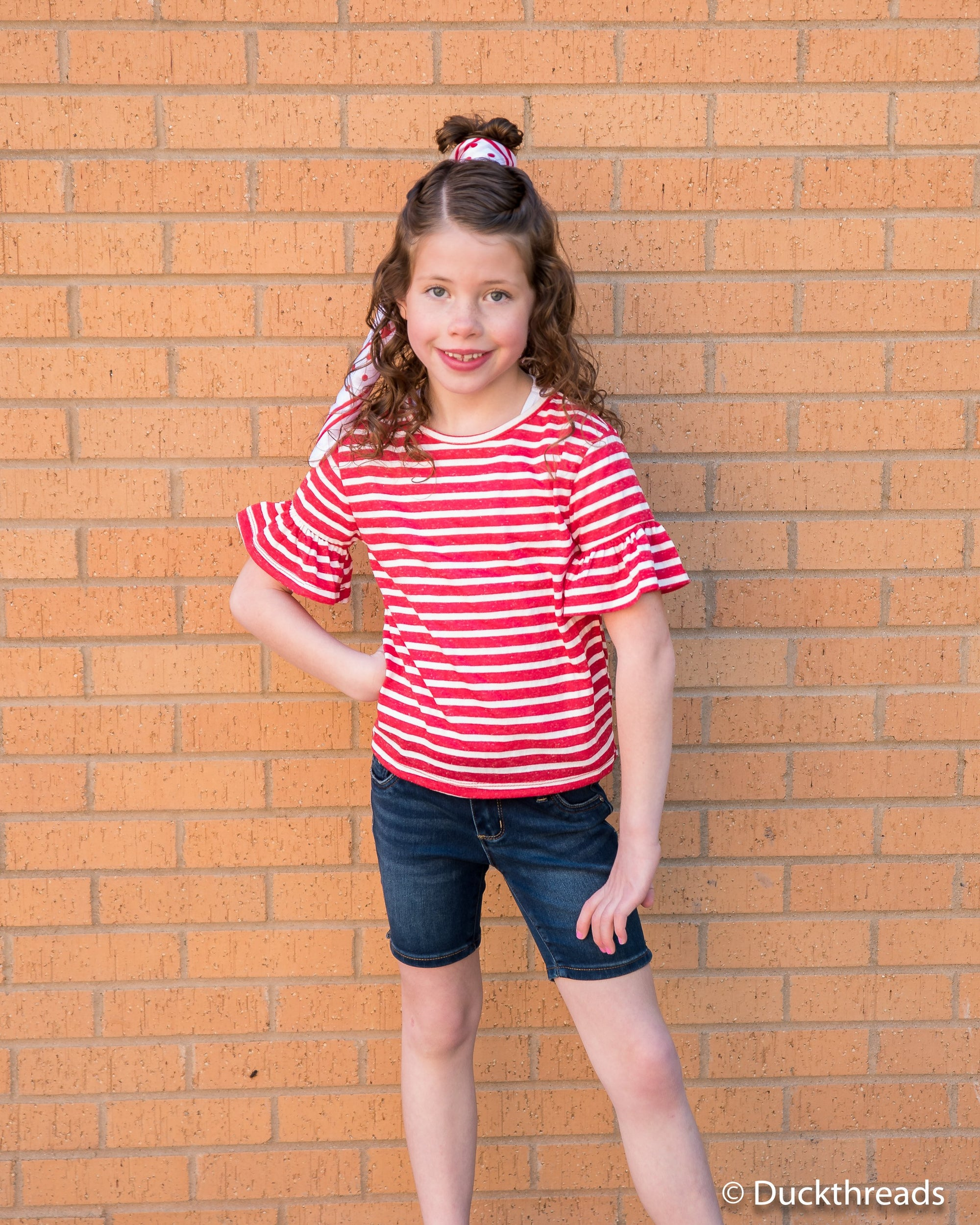Tractr Girls Bermuda Shorts Duckthreads