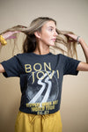 "Bon Jovi ""Slippery When Wet"" Graphic Tee"