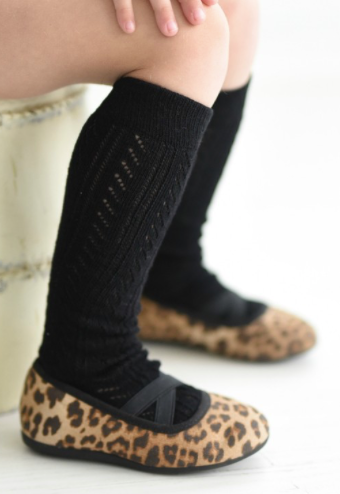 Girls tall socks