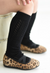 Girls tall socks Duckthreads