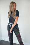 DT Tie Dye Jumpsuit in Gemstone *Limited Edition*