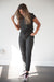 DT UNITY Women's Jumpsuit with Pockets in Black