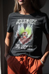 Journey Band Graphic Tee 1979 tour in Charcoal - Duckthreads