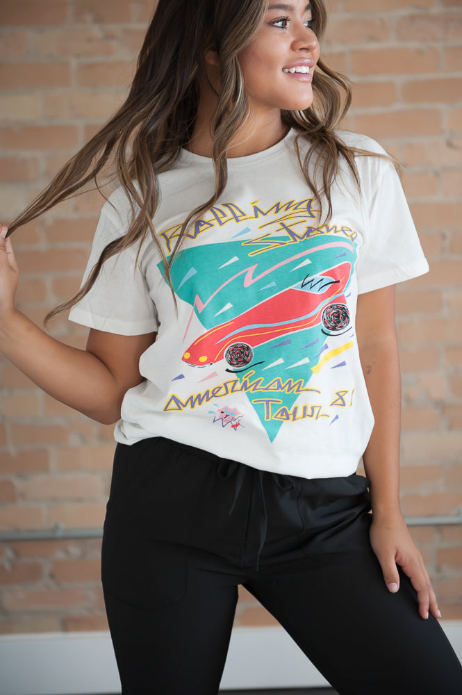 Rolling Stones Graphic Tee in White