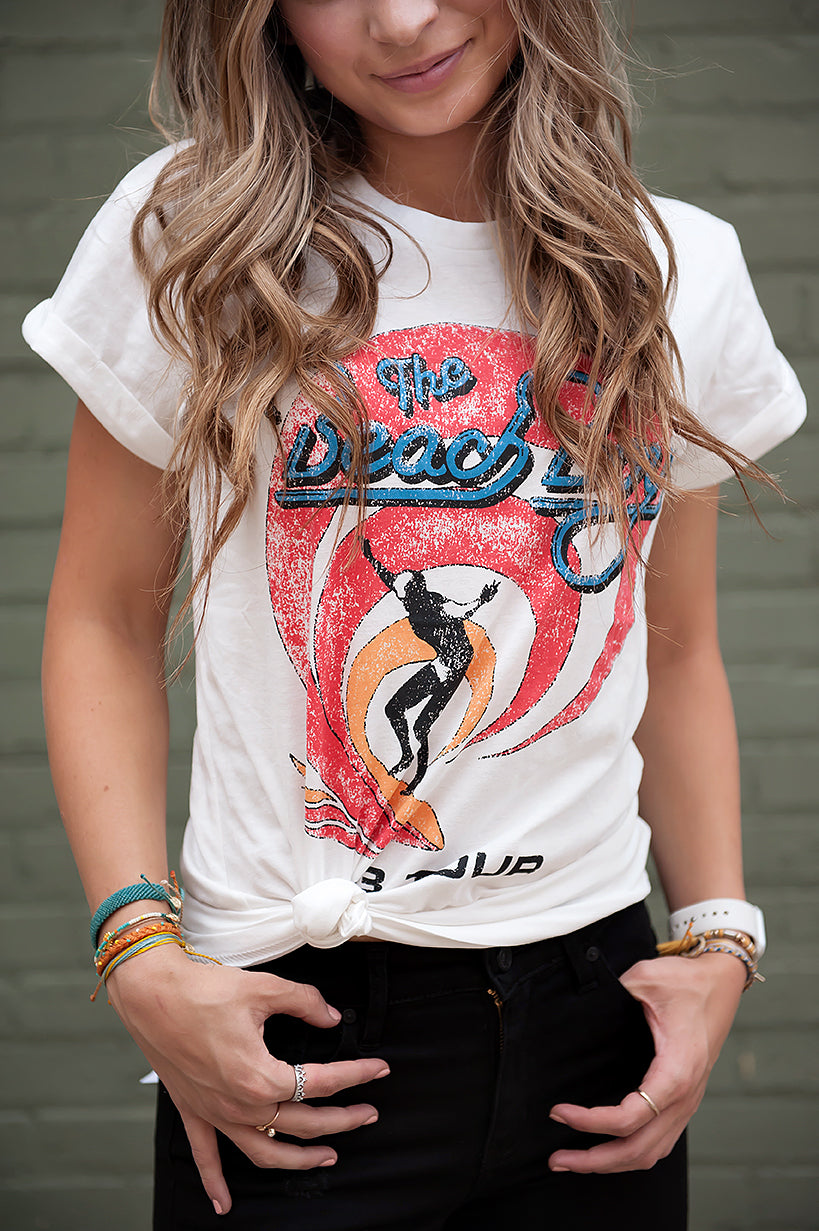 Beach Boys Graphic Tee in White