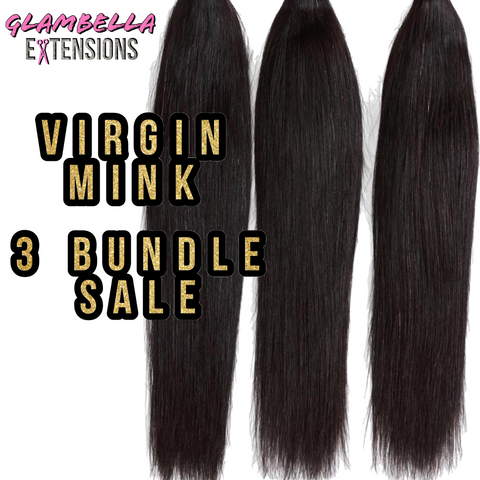 Mink Bone Straight 3 bundle Sale