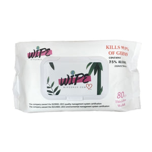9 Pack Disinfectant Cleaning Alcohol Wipes (720 total individual wipes) Kills 99.9% Viruses and Bacteria,