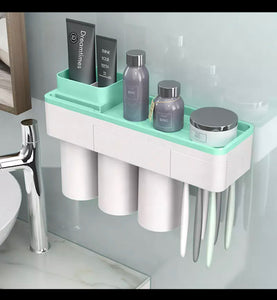 Green All in 1 Shower Set