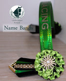 Vinyl Personalised Browbands (Glitter or Chrome Font)