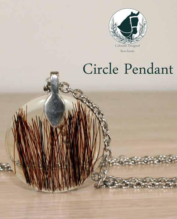 Circle Keepsake Pendant