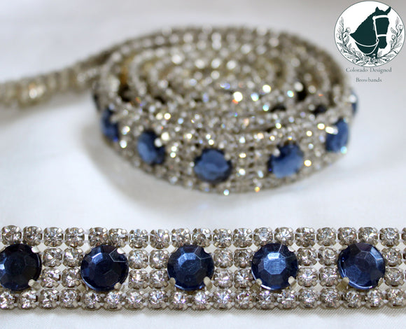 Sapphires and diamonds chain