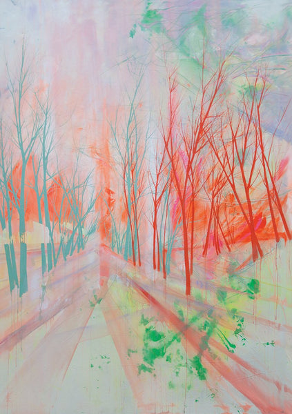 A forest-Into the trees