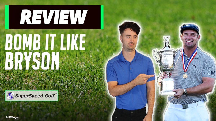 GolfMagic: How To BOMB IT LIKE BRYSON