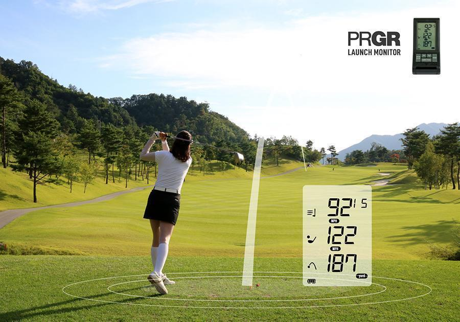 SuperSpeed Club C and PRGR Launch Monitor