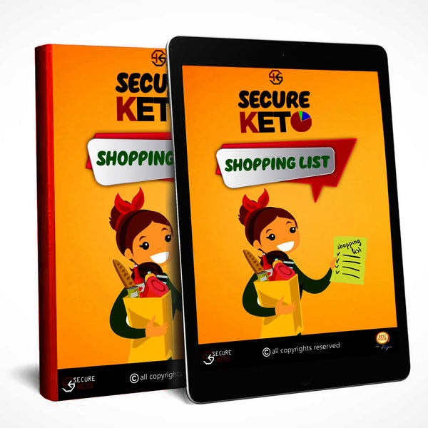 Secure Keto™ Shopping List - Secureketo By Rawal LLC