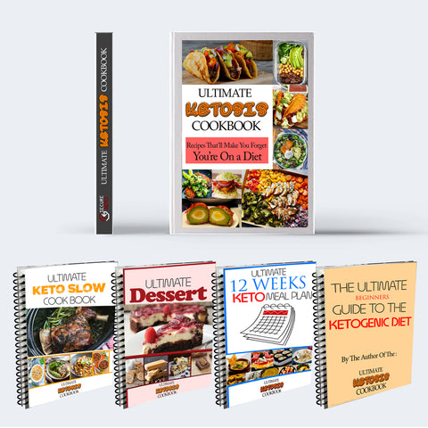 Ultimate Ketosis Cookbook + 4 Bonus Ebooks