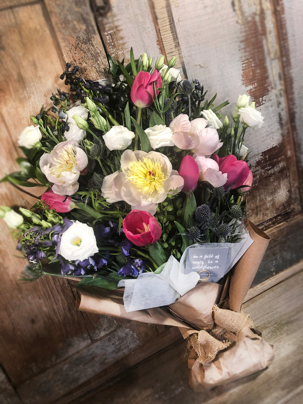 Deluxe Seasonal Hand-Tied Bouquet