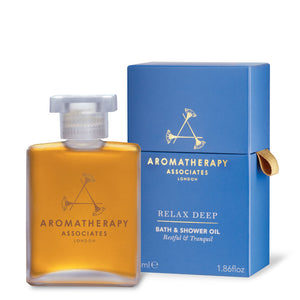 Aromatherapy Associates - Deep Relax Bath & Shower Oil (55ml)