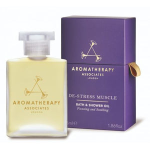 Aromatherapy Associates - De-Stress Muscle Bath & Shower Oil (55ml)