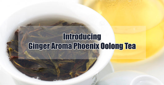 most aromatic dan cong oolong ginger flower tea