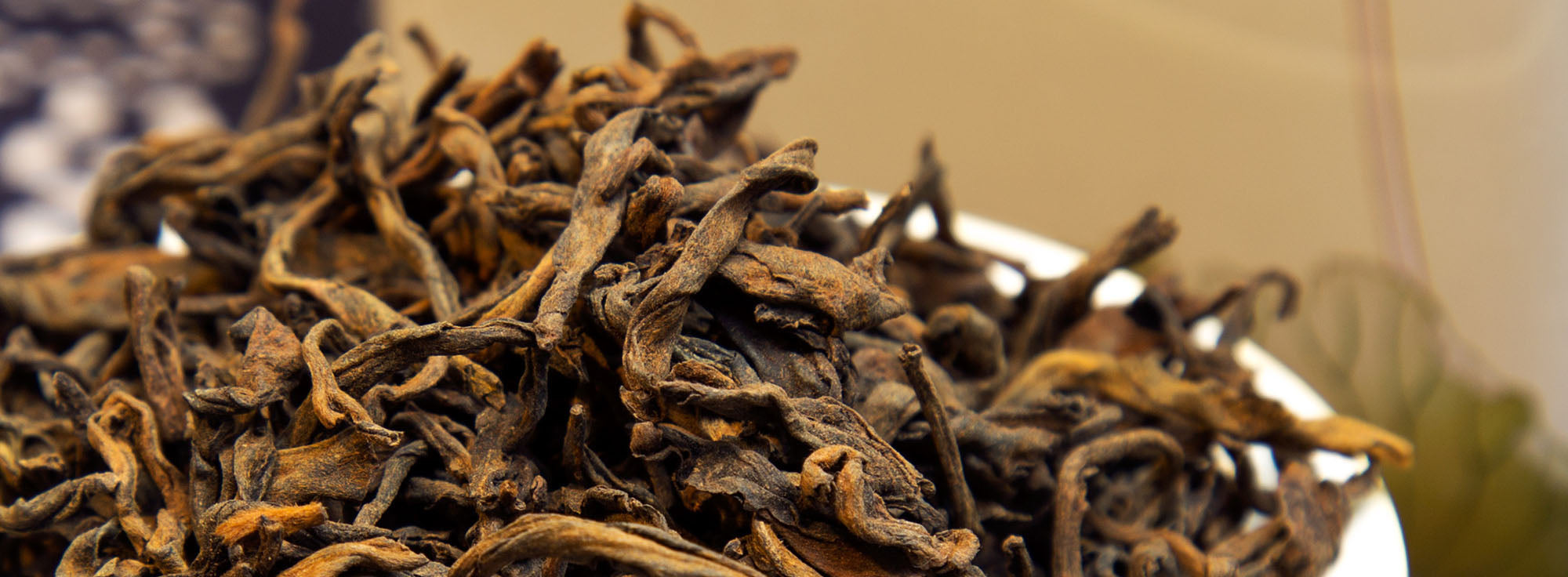 loose form pu erh tea