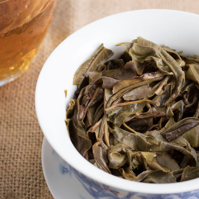 2015 brewed yunnan pu erh tea