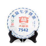 Dayi 7542 Raw pu erh flagship tea 1801