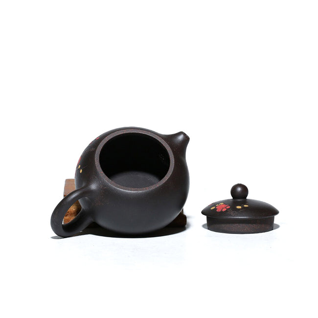 Yi Xing Black Gold Clay Teapot