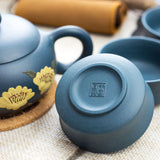 Yi Xing Tian Qing clay xishi teacup bottom