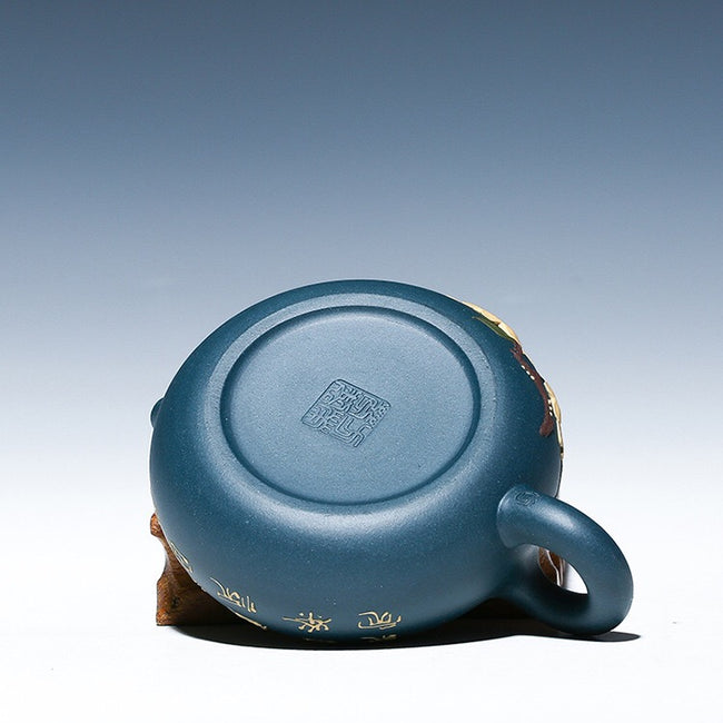 Yi Xing Tian Qing clay xishi teapot bottom