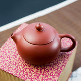 Yi Xing red clay teapot with box
