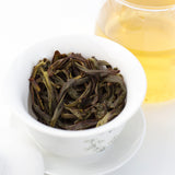brewed duck shit aroma oolong tea leaves
