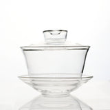 glass gaiwan tea cup 160ml