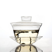 glass gaiwan tea cup