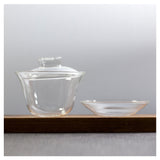 glass gaiwan tea set 160ml