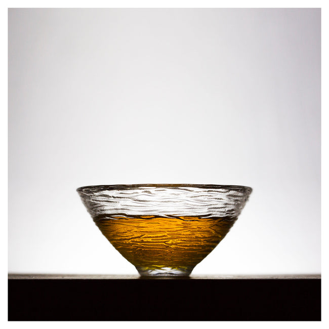 glass single gongfu tea cup type A