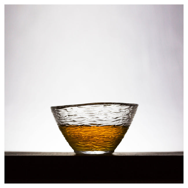 glass single gongfu tea cup type B
