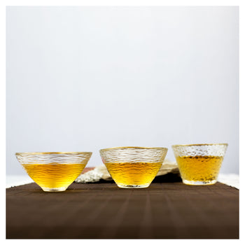 glass tea cups multi styles