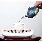 smooth streaming yi xing tea pot