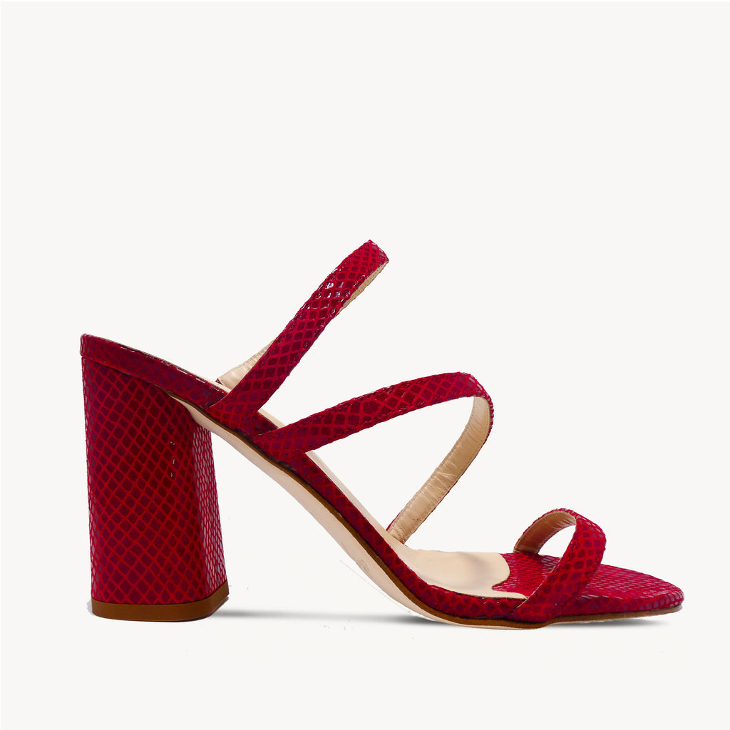 Rouge Barely There Mule