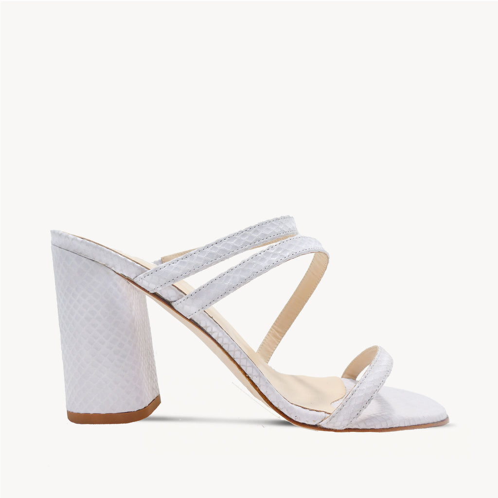 Blanco Barely There Mule
