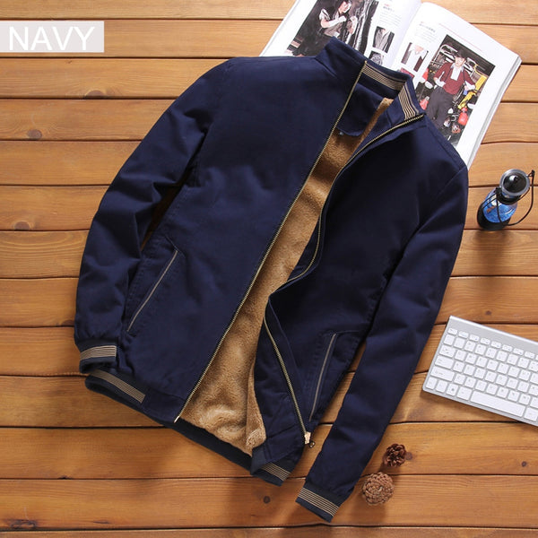 Autumn Thick Jacket (4 colors)