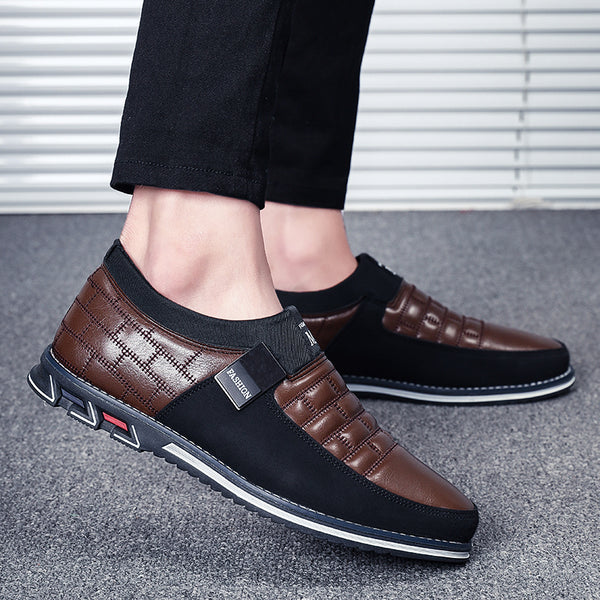 Leather Casual Loafers (6 colors)