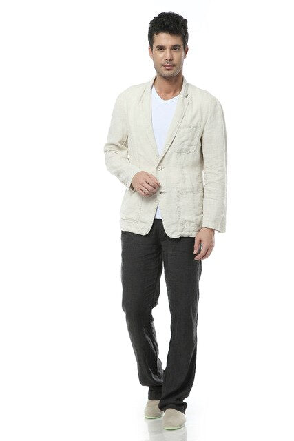 Linen Casual Blazer (2 colors)