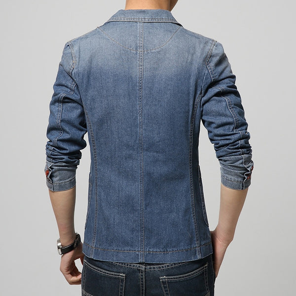 Casual Denim Blazer (2 colors)