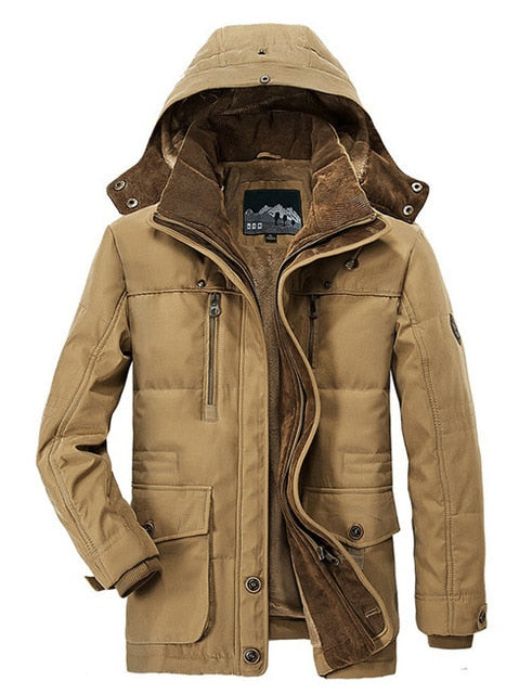 Warm Padded Jacket (4 colors)